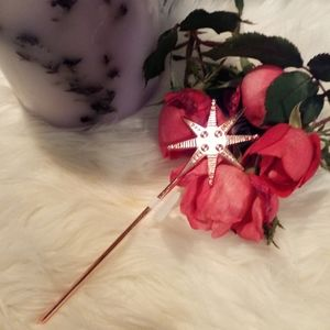 Free People Rose Gold Etched Hair Pin